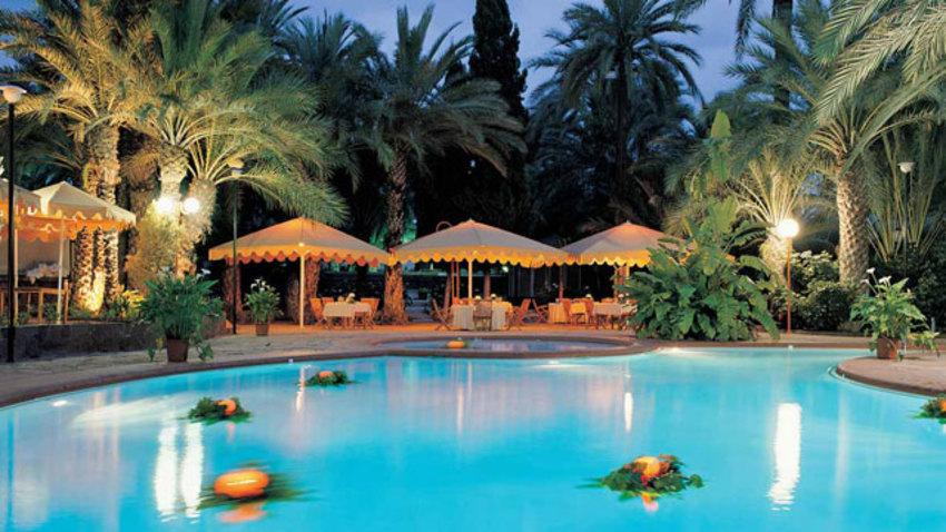 Hotel jard n del milenio en elche bookerclub for Jardin milenio